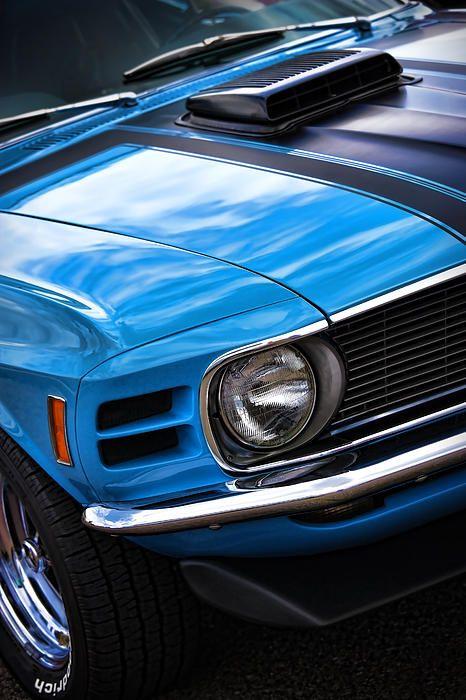 1970 Boss 302 Ford Mustang - by Gordon Dean II
