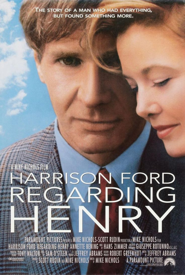 Regarding Henry. Harrison Ford. One of my favorite movies