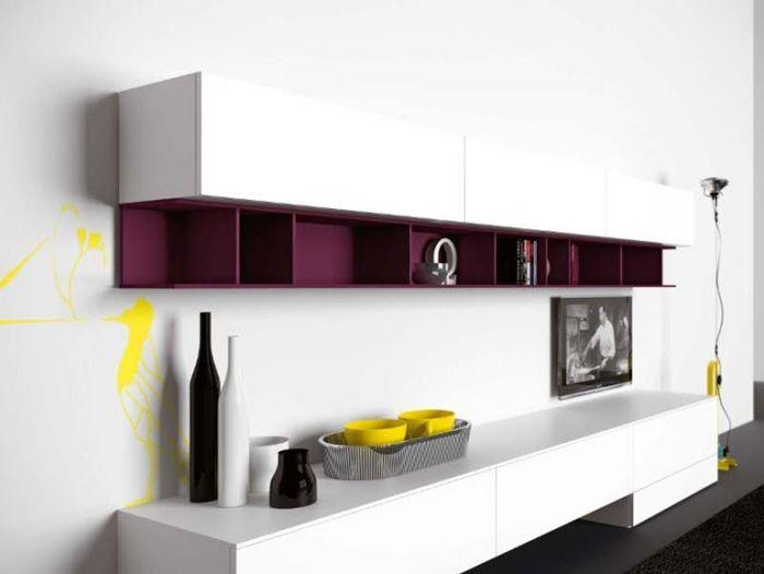 1000+ ideas about Wohnwand Weiß Hochglanz on Pinterest  Discount furniture, Hochglanz and ...