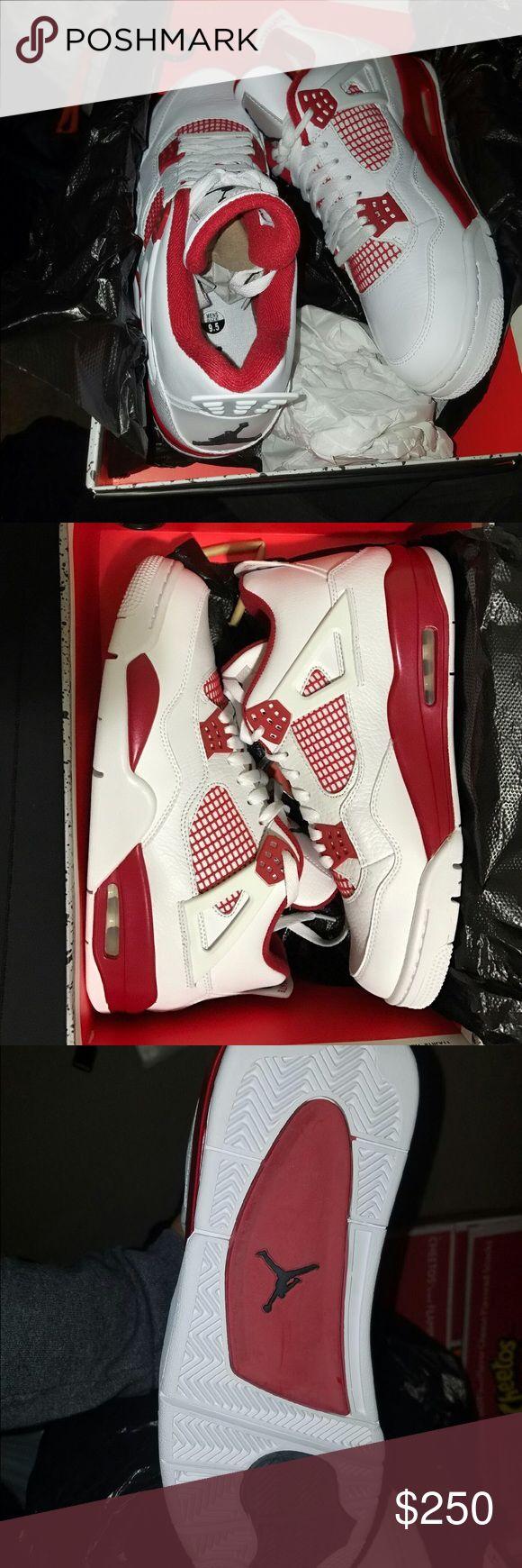jordan 4 retro alternate 89 New never use 9.5 Jordan Shoes Sneakers