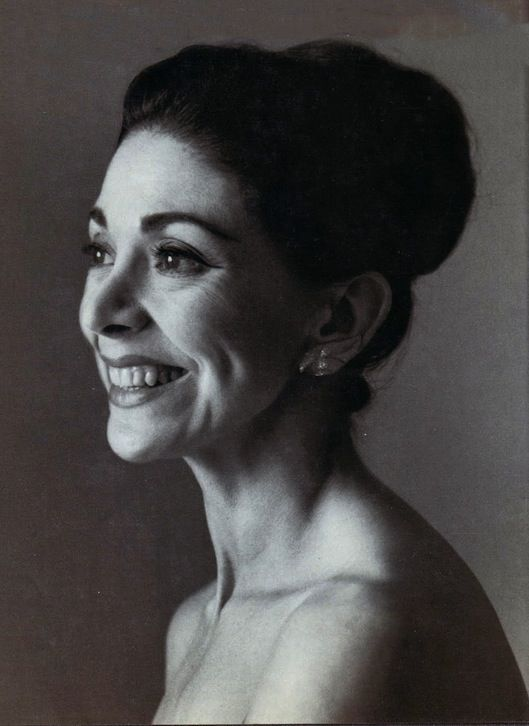 Dame Margot Fonteyn by Cecil Beaton.  They are so alike, she could have been Audrey Hepburn's sister!