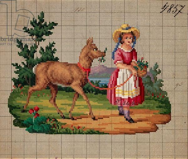 Berlin Wool Work Pattern