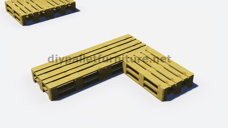 Instructions et plans 3D de la façon de faire un canapé pour le jardin avec des palettes 3
