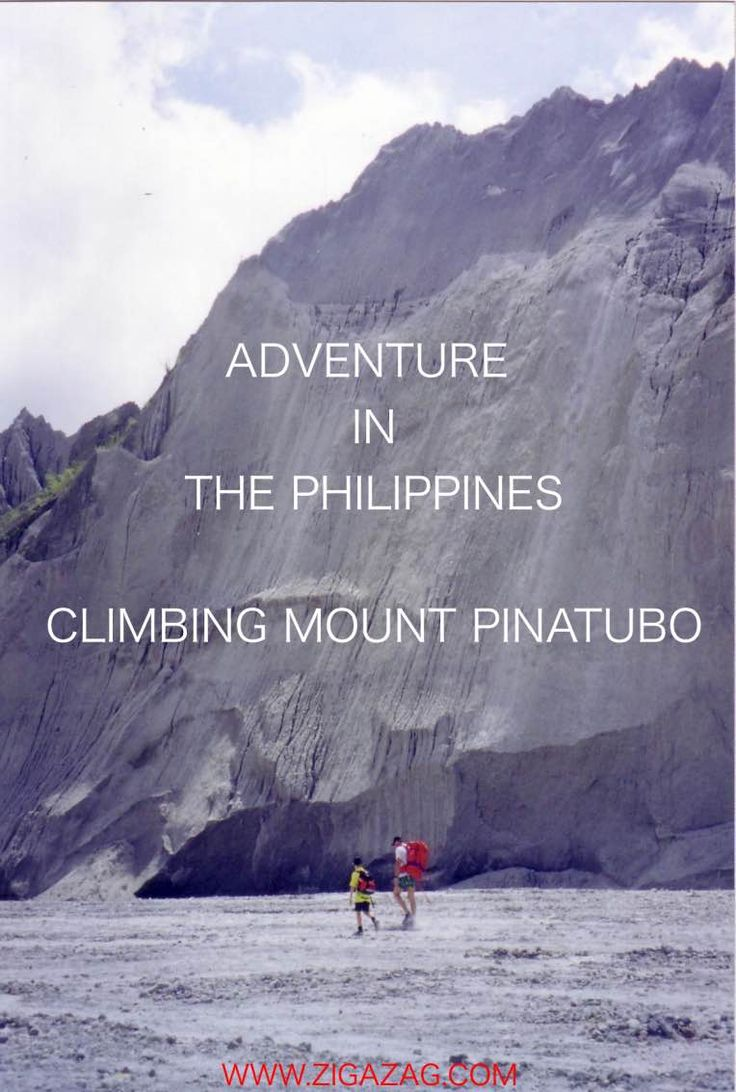 Adventure in the Philippines - Along the Pumice Trail - ZigaZag