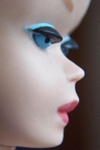 Barbie. Look at those eyelashes....
