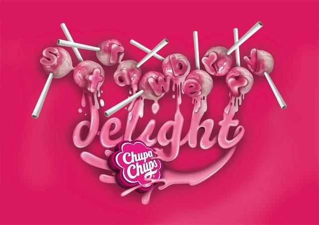 www.daq.es Chupa Chups Strawbwerry - daq art direction, illustration, typography & more