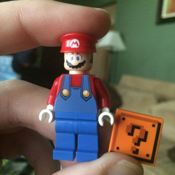 The Plumber miniBIGS Custom #LEGO Figure #SuperMario