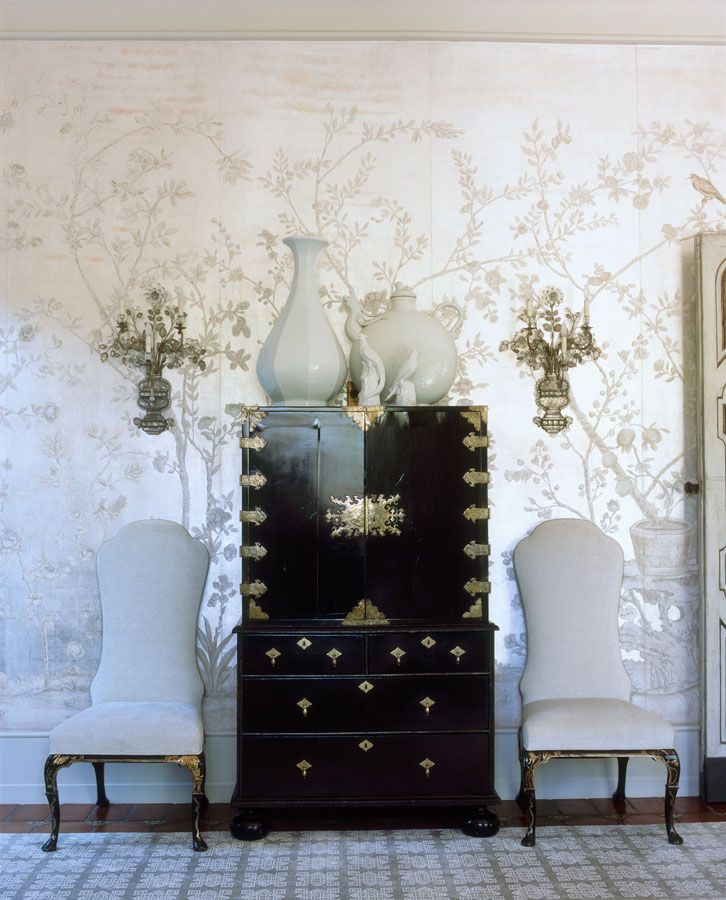 1388 Best Chinoiserie Paper Images On Pinterest Bed Room