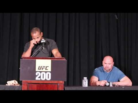 USA TODAY Sports: Daniel Cormier reacts to Jon Jones being pulled from UFC 200