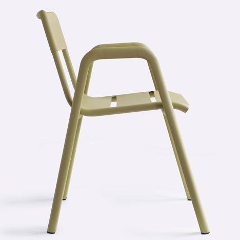 Alumi by Industrial FacilityAluminium Chairs, Cafes Chairs, Gardens Furniture, Alumi Chairs, Aluminum Chairs, Industrial Faciles