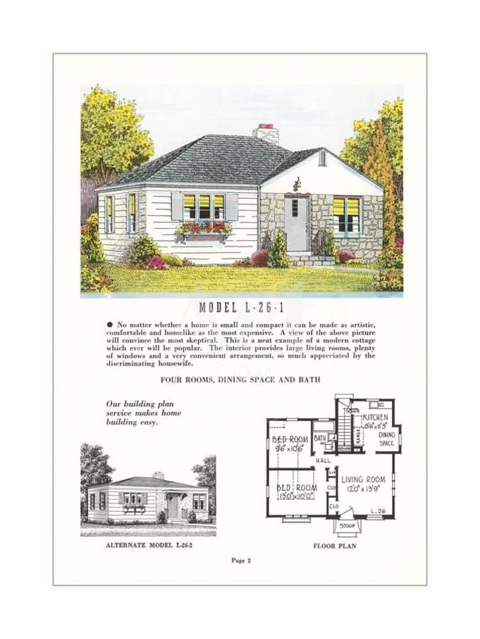 small model home and plan art print in 2019 jess model homes rh pinterest com