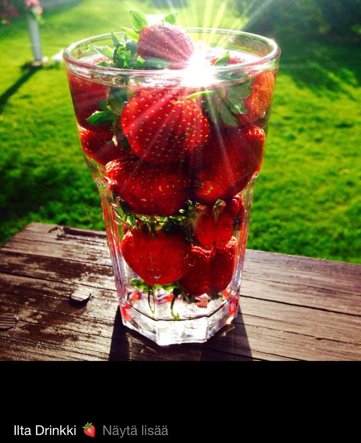 Strawberry drink