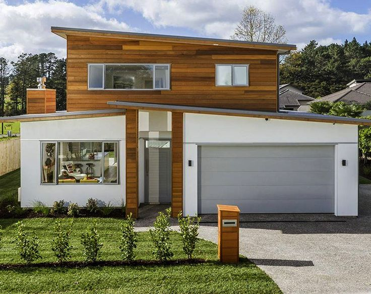 best 25 modern house facades ideas on pinterest modern. Black Bedroom Furniture Sets. Home Design Ideas