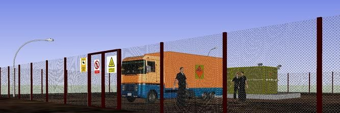 Depositos autoprotegido para la custodia de armas, munición y explosivos