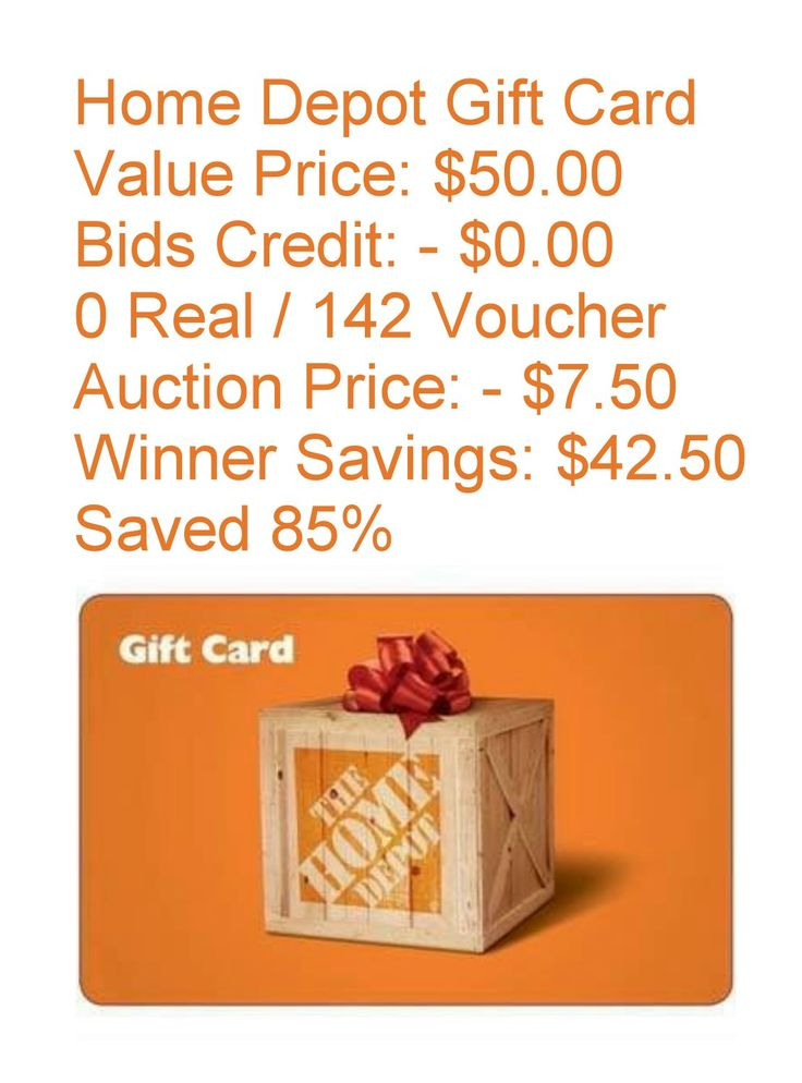 Home depot gift card value price bids credit 0 for 0 home depot credit card