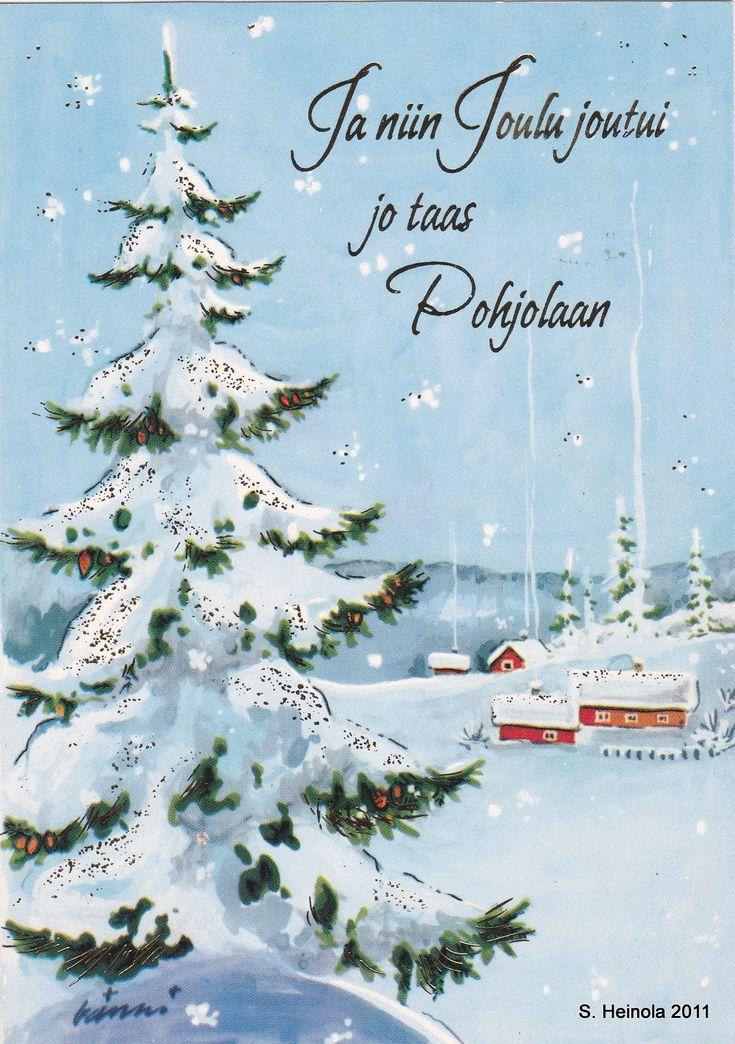 Ja niin joulu joutui ... I(Mirja Vänni)