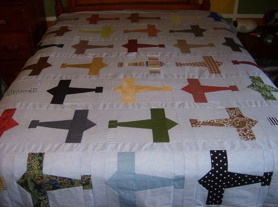 1000 Images About Airplane Quilts On Pinterest Twin