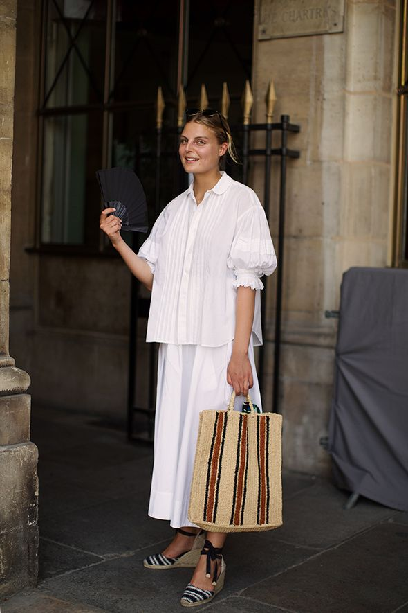 On the Street…Stripes, Paris | The Sartorialist | Bloglovin'