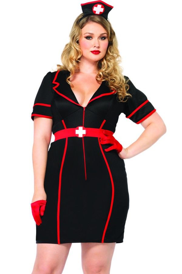 Plus 3PC.Naughty Night Nurse Costume,Sexy Plus Size Costumes,Plus Size Halloween Costumes,Plus Size Pirate Costume,Plus Size Costumes,Plus Size Costumes Women,Plus Size Costume Patterns,Plus Size Cat Costume,Plus Sized Costumes