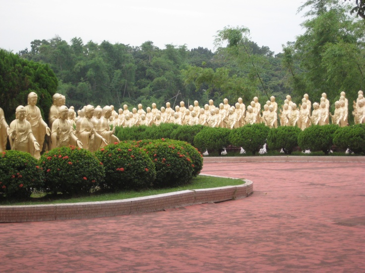 On the grounds of the Buddhist monastery. Photo by CD.