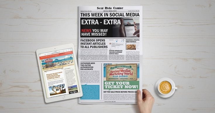 Facebook to Open Instant Articles to All Bloggers: This Week in Social Media #Facebook #blogger #blog #blogging #WordPress #SocialMedia