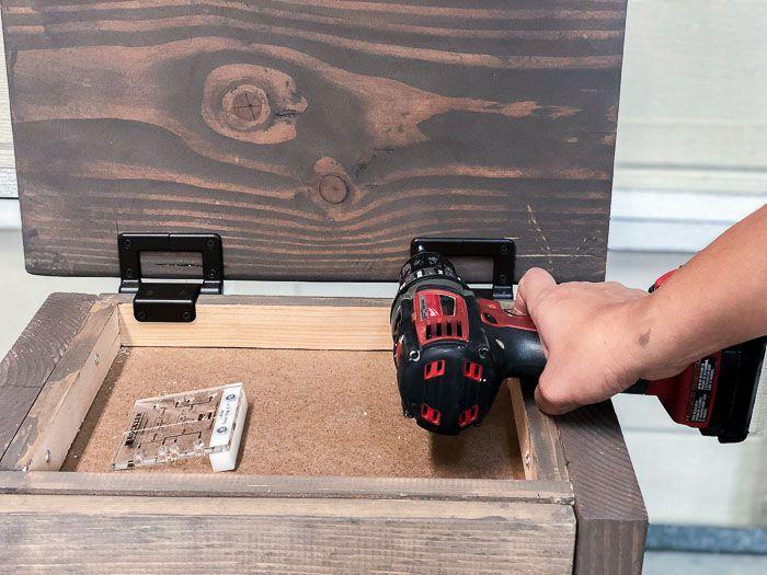 Easy Diy Nightstand With Hidden Compartment Diy Nightstand