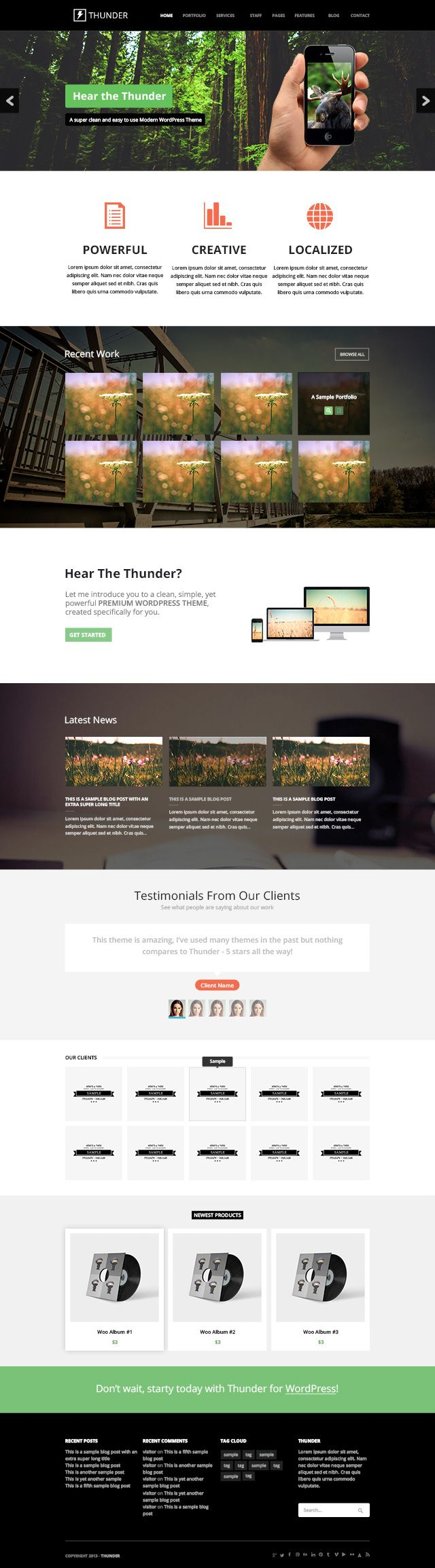 647 best Free psd template webdesign / Website images on Pinterest ...