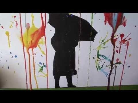 Spitter Spatter Schilderij - YouTube