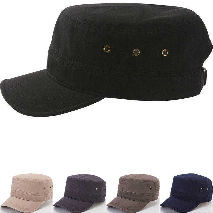 Classic Plain Vintage Army Military Cadet Patrol Castro Caps Hats Combat Hunting #hellobincomJUNGIL #CadetPatrolCastroCapHats