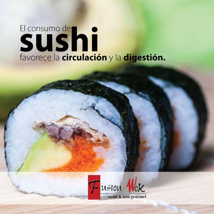 ¡Viernes de Sushi & Amigos en Fusion Wok! ¡Los esperamos!