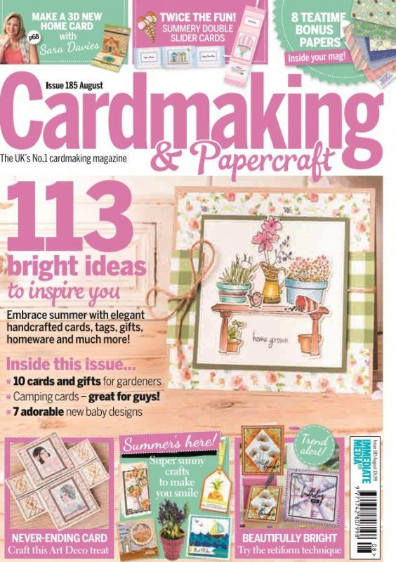 Cardmaking Papercraft Issue 185 Mags Direct Magazines Paper