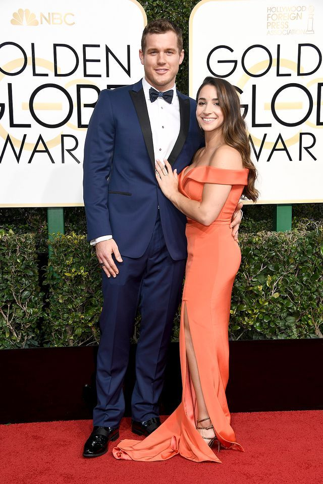 Colton Underwood and Aly Raisman