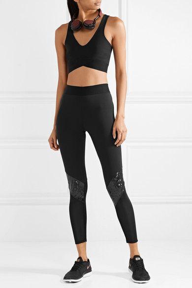Heroine Sport - Stretch Sports Bra - Black