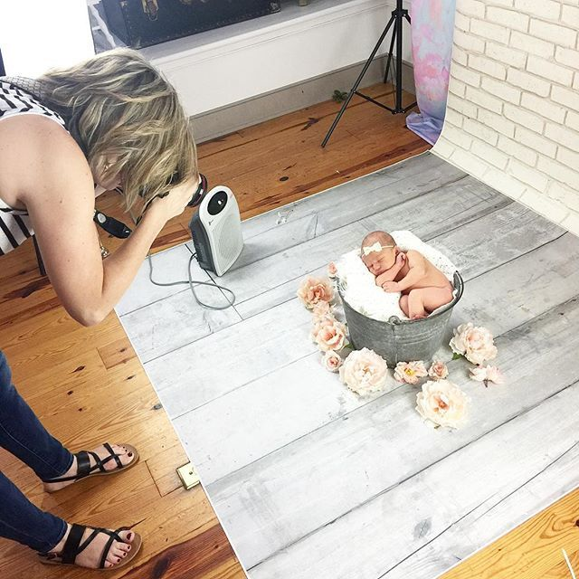 June is surely the month of newborns!  Just scheduled two more sessions for this week!  Here's a little behind the scenes from today's sweet girl!  #stlphotographer #newbornbaby #newbornphoto #newbornsession #newbornstudio #newbornprops #babygirl #washmop