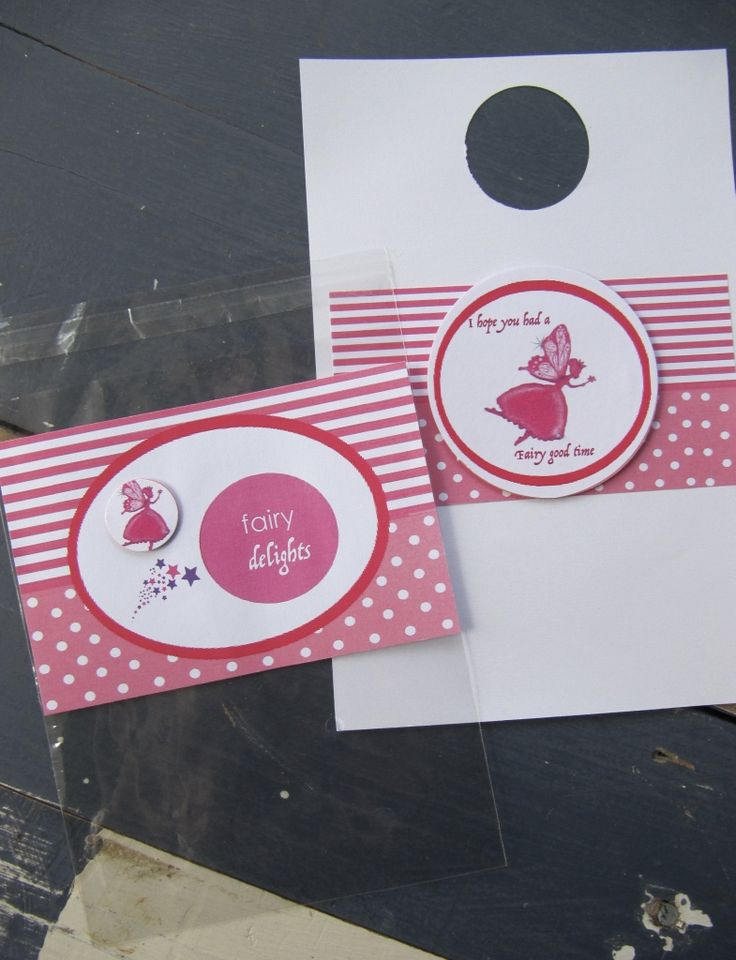Fairy Party Bags-Cellophane treat bags