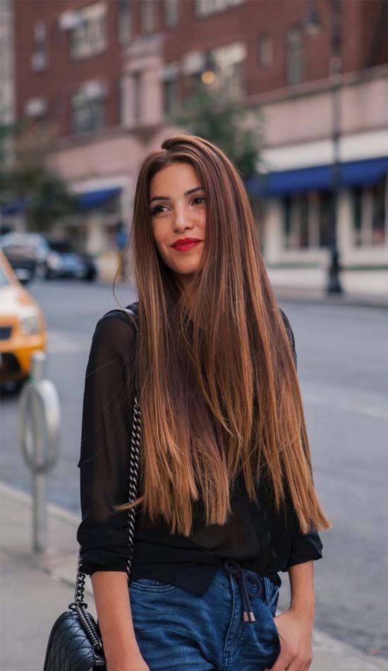 styles for thick long hair best 25 hairstyles ideas on hair 4756 | 030b5d0723ad17c1652f6711c29812c0 negin mirsalehi healthy hair
