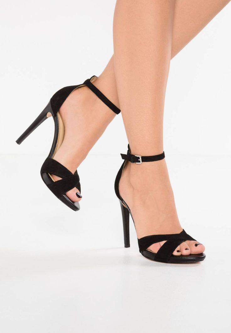 High Heel Sandaletten Gr. 39 *NEU* Orange-rot NP �49.- Absatz 10 cm !!!