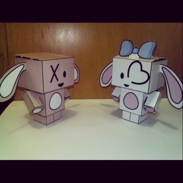 Minx & Pinxl - My Cubecraft Collection  #CubeCraft #CubeDoll #Craft #KerajinanTangan #Koleksi #Collection #Minx #PapperCraft #KerajinanKertas