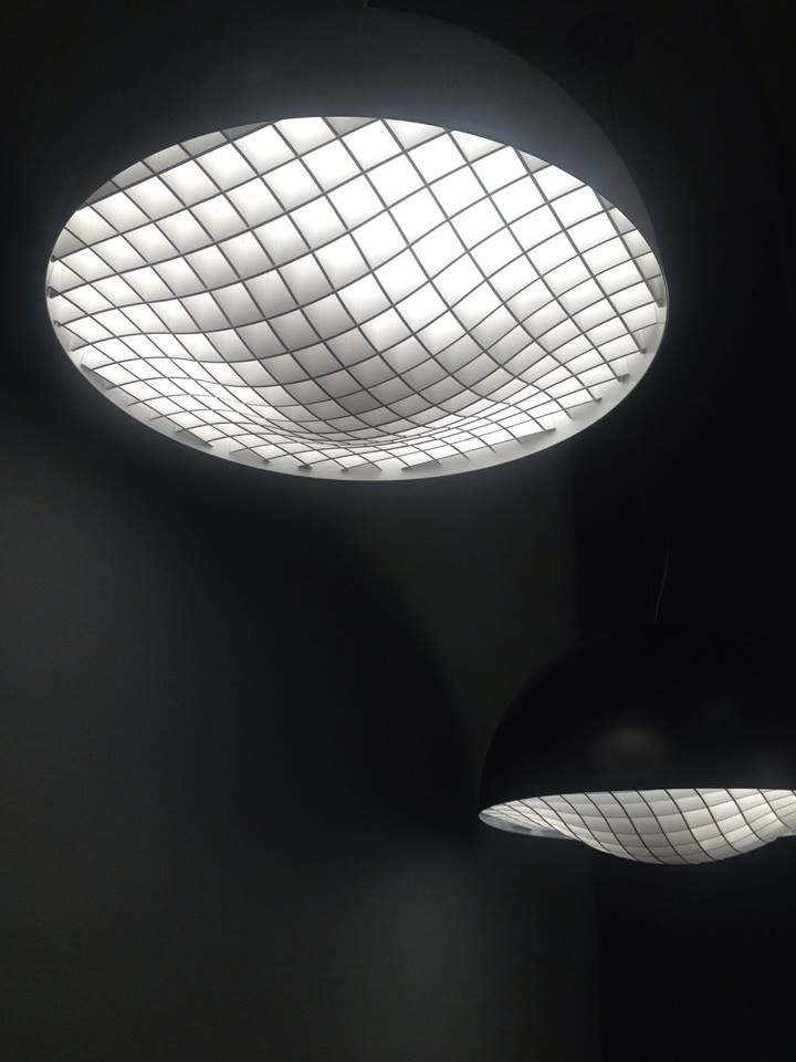 #grid, the new lamp by #pallucco. A project by #brian_rasmussen