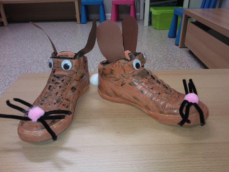 schoenen: konijn