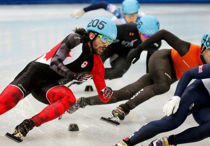 JO Sotchi - 10 février 2014 - 5e médaille pour le Canada! Le Québécois Charles Hamelin remporte l'or au 1500 mètres en patinage de vitesse courte piste.
