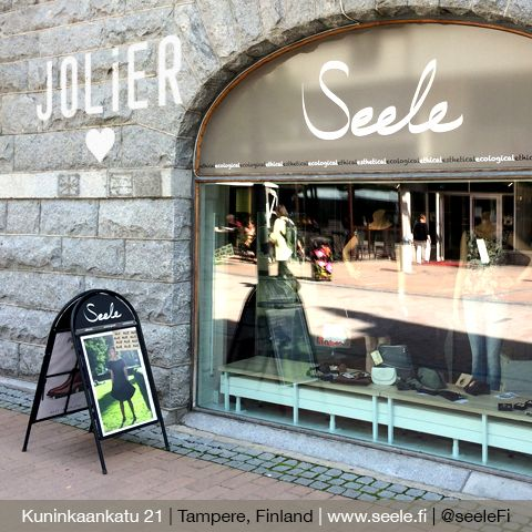 JOLIER collections are available from Seele, Kuninkaankatu 21, Tampere - Finland!