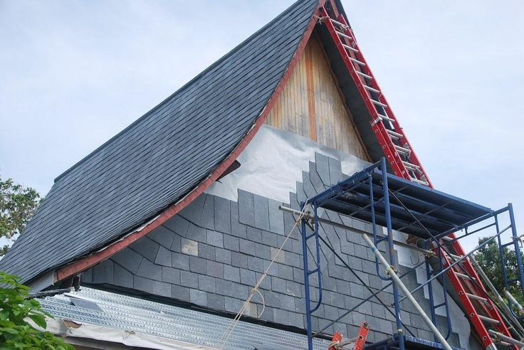 Slate Roofing Gable End Roofing Construction Services Koh Samui