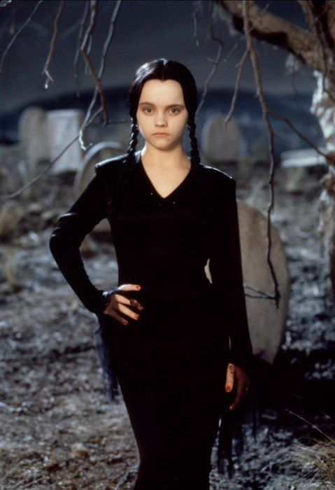 I used to pretend I was Wednesday Addams...not kidding either