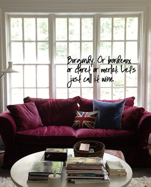 Grey And Burgundy Living Room Ideas: 17 Best Ideas About Burgundy Couch On Pinterest