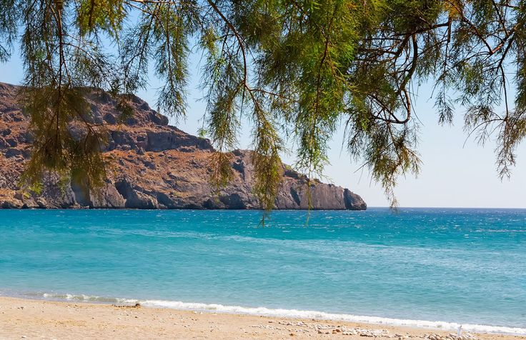 Морской пейзаж (Греция, Frangokastello)