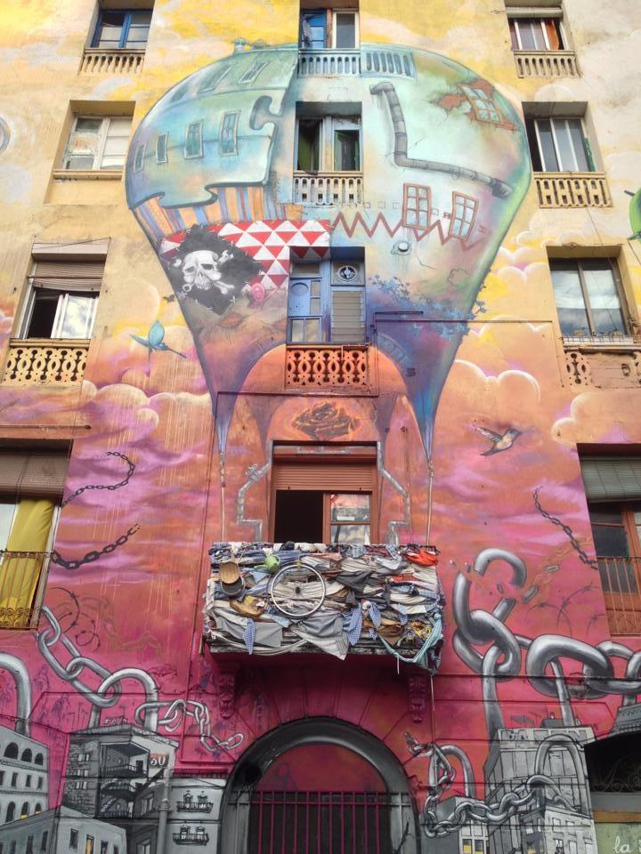 Barcelona.Mural