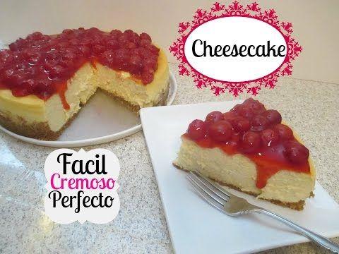 Cómo Hacer Un Cheesecake Perfecto, Fácil y Rico! - Madelin's Cakes - YouTube