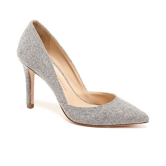 Flannel heels