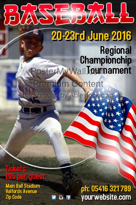 Best Baseball Poster Templates Images On   Online